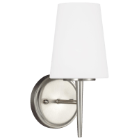 Driscoll One Light Wall / Bath Sconce Brushed Nickel Bulbs Inc
