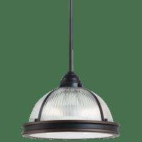 Pratt Street Prismatic Two Light Pendant Autumn Bronze Bulbs Inc