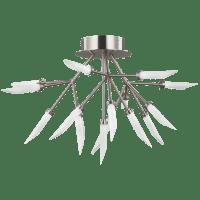 Spur Ceiling Satin Nickel 2700K 90 CRI integrated led 90 cri 2700k 120v-277v unv (t24)