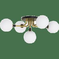 Viaggio Flush Mount Opal/Brass no lamp