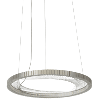 Interlace 18 Suspension Satin Nickel 2700K 80 CRI Integrated LED 80 CRI 2700k 120v
