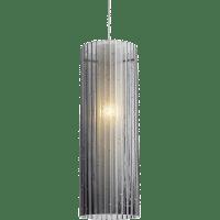 Rombo Pendant MonoPoint Transparent Smoke Satin Nickel 3000K 90 CRI 12 volt LED 90 CRI 3000k