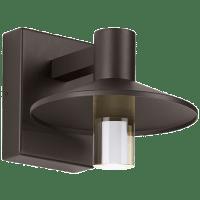 Ash 8 Outdoor Wall Bronze Cylinder 2700K 90 CRI 2700K High Output