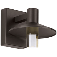 Ash 8 Outdoor Wall Bronze Cylinder 2700K 90 CRI 2700K High Output, Surge Protection