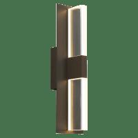 Lyft 18 Outdoor Wall Bronze Clear 2700K 80 CRI In-Line Fuse