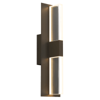 Lyft 18 Outdoor Wall Bronze Clear 2700K 80 CRI Surge Protection