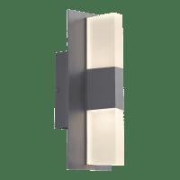 Lyft 12 Outdoor Wall Charcoal 3000K Diffuser 80 CRI