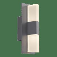Lyft 12 Outdoor Wall Charcoal 4000K Diffuser 80 CRI