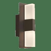 Lyft 12 Outdoor Wall Bronze Diffuser 4000K 80 CRI Surge Protection