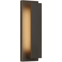 Nate 17 Outdoor Wall Bronze 3000K 90 CRI LED 90 CRI 3000k 120v