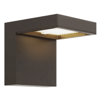 Taag 10 Outdoor Wall Bronze 3000K 80 CRI, In-Line Fuse