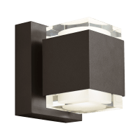 Voto 6 Outdoor Wall Bronze 3000K 80 CRI Uplight & Downlight Surge Protection
