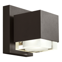 Voto 8 Outdoor Wall Bronze 4000K 80 CRI Downlight Only Surge Protection