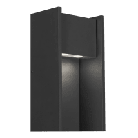 Zur 18 Outdoor Wall Black 2700K 90 CRI In-Line Fuse