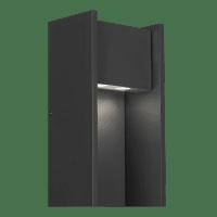 Zur 18 Outdoor Wall Black 4000K 90 CRI In-Line Fuse