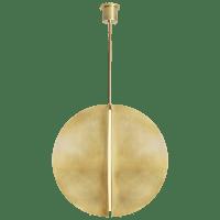 Bau 36 Pendant Natural Brass 3000K 90 CRI Integrated LED 90 CRI 3000k 120v-277v unv