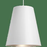 Gunnar Pendant White/Satin Haze No Lamp