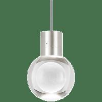 Mina Pendant 1-LITE Clear Satin Nickel Gray 3000K 90 CRI LED 120v (t24)