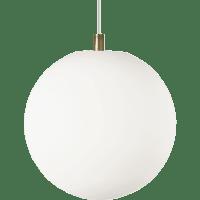 Palona Pendant White Satin Nickel no lamp