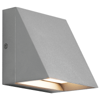 Pitch Single Outdoor Wall Single silver 3000K 80 CRI led 80 cri 3000k 277v