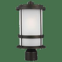 Wilburn One Light Outdoor Post Lantern Antique Bronze