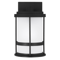 Wilburn Small One Light Outdoor Wall Lantern Black Dark Sky