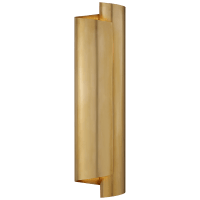 Iva Large Wrapped Sconce in Hand-Rubbed Antique Brass