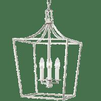 Southold Small Lantern Polished Nickel