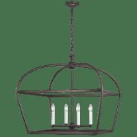 Stonington Wide Lantern Smith Steel