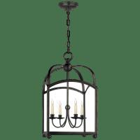 Arch Top Medium Lantern in Bronze