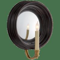 Chelsea Medium Reflection Sconce in Tudor Brown