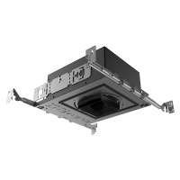 "3"" ELEMENT New Construction Adjustable Square Flanged Housing, LED Warm Dim, 25, High Output"