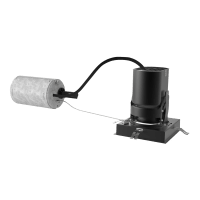 """3"""" ENTRA Square Adjustable & Wall Wash Remodel Housing 90 CRI, LED 3000K, Low Output"""