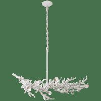 Mandeville Linear Chandelier in Plaster White