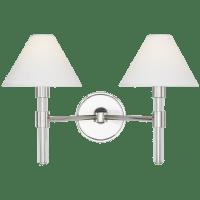 Robert 2 - Light Vanity Polished Nickel
