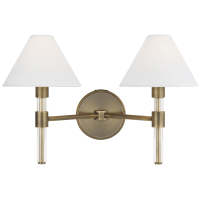 Robert 2 - Light Vanity Time Worn Brass
