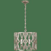 Brittany Small Lantern in Venetian Silver