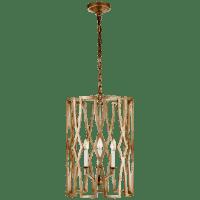 Brittany Medium Lantern in Venetian Gold