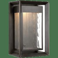 Urbandale Medium LED Lantern Antique Bronze Bulbs Inc