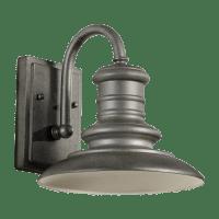 Redding Station Small Lantern Wildlife Friendly Tarnished Silver Bulbs Inc