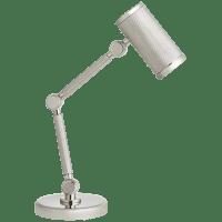 Barrett Mini Desk Lamp in Polished Nickel