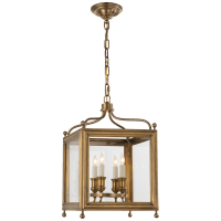 Greggory Small Lantern in Hand-Rubbed Antique Brass