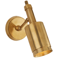 Anders Small Articulating Wall Light in Hand-Rubbed Antique Brass