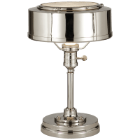 Henley Task Lamp in Polished Nickel