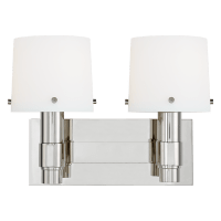 Palma 2 - Light Vanity Polished Nickel