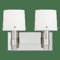 Palma 2 - Light Vanity Polished Nickel