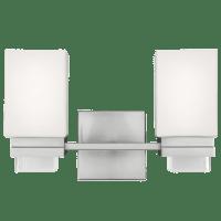 Maddison 2 - Light Vanity Satin Nickel