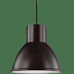 Division Street One Light Pendant Bronze Bulbs Inc