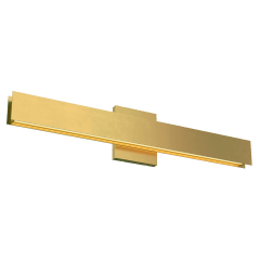 Bau 24 Bath natural brass 3000K 90 CRI led 90 cri 3000k 120v