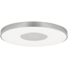 Wynter Round 22 Flush Mount Large Satin Nickel 3000K 80 CRI LED 80 CRI 3000k 120v